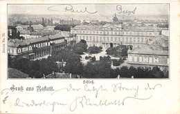 RASTATT GERMANY~SCHLOSS-1899 POSTMARK POSTCARD 40317 - Rastatt