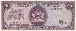 20 Dollars 1964 - Trinidad En Tobago