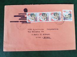 (32298) STORIA POSTALE ITALIA 1984 - 6. 1946-.. Repubblica