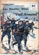 """E03 Collection """"Patrie"""". Rouff. Guerre 1914-1918 N° 25 Les Diables Bleus Au Vieil Armand 1917 - Guerre 1914-18"""