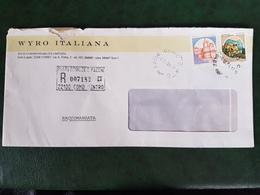 (32300) STORIA POSTALE ITALIA 1984 - 6. 1946-.. Repubblica