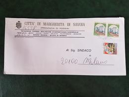 (32301) STORIA POSTALE ITALIA 1984 - 6. 1946-.. Repubblica