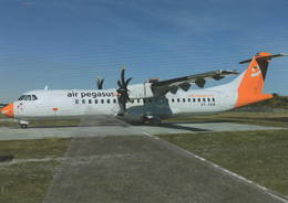 Air Pegasus ATR-72-202F  OY-EBW At Billund, Denmark - 1946-....: Era Moderna