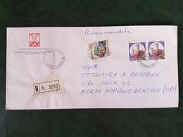 (32305) STORIA POSTALE ITALIA 1984 - 6. 1946-.. Repubblica