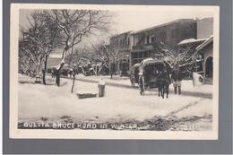 PAKISTAN Quetta, Bruce Road (winter) Ca 1920 OLD POSTCARD - Pakistan