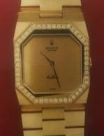 Rolex (Céllini) Mecanisme Complet En Parfait état De Marche, Avec Son Verre Et Ses Vis... - Horloge: Luxe