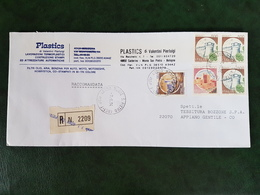 (32311) STORIA POSTALE ITALIA 1984 - 6. 1946-.. Repubblica