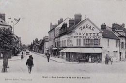 Oise - Creil - Rue Gambetta Et Rue Des Moulins - Creil