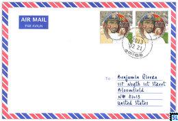 Sri Lanka Stamps, Muttiah Muralitharan, Cricket, Personalized Cover - Sri Lanka (Ceylon) (1948-...)