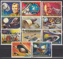ÄQUAT.GUINEA 1975  MiNr.587-597 Komplett - Raumfahrt