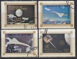 ÄQUAT.GUINEA 1976  MiNr. 832-835 Komplett - Raumfahrt