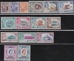 Cyprus   .   SG  .    188/202      .   *     .  Mint-hinged         .   /    .   Ongebruikt - Cyprus (...-1960)