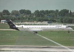 Lufthansa CityLine Bombardier CRJ 900LR  D-ACNM At Dusseldorf - 1946-....: Era Moderna