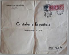 20134# SPAGNE LETTRE CENSURE CENSURA MILITAR ARIJA Obl AMBULANTE LEON BILBAO 1937 Pour BILBAO ESPANA PAYS BASQUE - Marques De Censures Républicaines