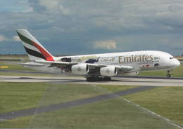 Emirates Airlines A380  A6-EER At PRG - 1946-....: Era Moderna