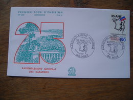 FDC 1987 N° 1534 25 Ans Rassemblement Mondial Nice Les Pieds Noirs - FDC