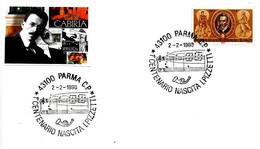 ITALIA - 1980 PARMA Cent. Nascita ILDEBRANDO PIZZETTI Compositore (pentagramma) - Musica