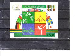 Bloc 2** Jeux Olympiques De Barcelone 1992 - Turkmenistan
