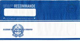 ITALIE - 1994 - Lettre Recommandée - Election Du Parlement Européen - 1946-.. République