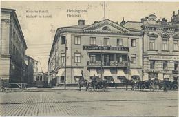 62-219 Suomi Finland Finnland Helsinki Helsingfors Kleinehs Hotelli Hotel Sent To Kronstadt Military Censor Sotasensuuri - Finlande