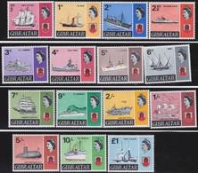 Gibraltar      .   SG  .    200/213      .   **     .   MNH         .   /    .  Postfris - Gibraltar