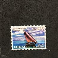 TANZANIA. SHIP. MNH D1409H - Barcos