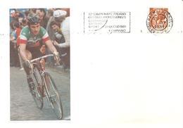 ITALIA - 1981 PARMA 72° Campionato Italiano Ciclismo Professionisti A Compiano - Annullo A Targhetta - 3472 - Cyclisme