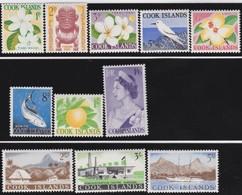 Cook  Islands     .   SG  .   163/173      .   **     .   MNH         .   /    .  Postfris - Cookeilanden