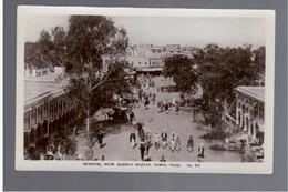 PAKISTAN General View Sudder Bazaar Rawal Pindi OLD PHOTO POSTCARD - Pakistan