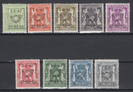 Série N° 22. Pre 475/83 *, MH. Cote 2018 : 10  € - Vorfrankiert
