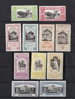RUMANIA (*) 192/202 En Nuevo Sin Goma. - 1881-1918: Charles Ier