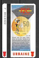 Carte De Transport - TEC - BD Lucky Luke - Transport En Commun Belgique - Urbaine - 1997 - Bus