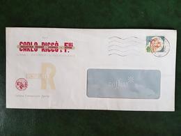 (32322) STORIA POSTALE ITALIA 1984 - 6. 1946-.. Repubblica
