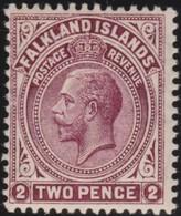 Falkland Islands   .   SG  .    62  .   *     .     Mint-hinged       .   /    .   Ongebruikt - Falklandeilanden