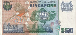 50 Dollars 1976 - Singapore