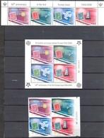 Monténégro - 2006 - Emissions Du Cinquantenaire Timbres Europa - Yt 118/121 - BF 2 Dentelé Et Non Dentelé - ** - Montenegro