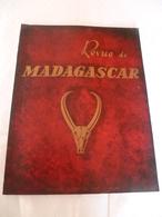 Lot De  5 Revues Madagascar  Années 1957-1953-1954 : Papillons , Ceramique, Peintre , Politique, Croyances... - Andere