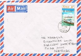32496. Carta Aerea NAIROBI (Kenia) 1983. Patrol Boat - Kenia (1963-...)