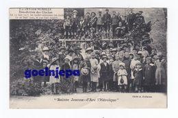 PAGNY SUR MOSELLE Bénédiction Des Cloches Le 13 Janvier 1917, Les Boches Enlevaient Les Cloches St Jeanne D'arc L'héroiq - Autres Communes
