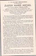 Zuster, Soeur,  Mathilde Baert, Lichtervelde, Veurne, 1949 - Godsdienst & Esoterisme