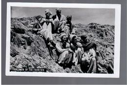 PAKISTAN Tribesmen Of The Frontier 1940 OLD PHOTO POSTCARD - Pakistan