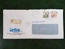 (32336) STORIA POSTALE ITALIA 1984 - 6. 1946-.. Repubblica