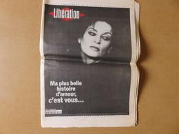 Journal Libération Mercredi 26 Novembre 1997 - Ma Plus Belle Histoire D'amour, C'est Vous... Barbara Est Morte Lundi Soi - Journaux - Quotidiens