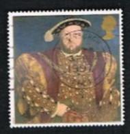 GRAN BRETAGNA.GREAT BRITAIN -  SG 1965.1969  -  1997 KING HENRY VIII (4 STAMPS, 2 SE-TENANT)  - USATI - 1952-.... (Elisabetta II)