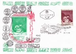 1969 Weihnachten 1969: Madonna FDC 4411 (ANK 1348, Mi 1318) - FDC