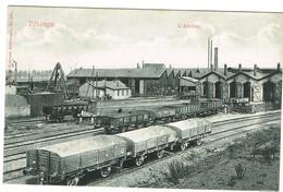 Luxembourg- Pétange. L'atelier, Animé,datée 1907. Tb état, édit Bellwald. - Pétange