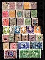 Islande Belle Petite Collection D'anciens 1876/1930. Bonnes Valeurs. B/TB. A Saisir! - Collections, Lots & Séries