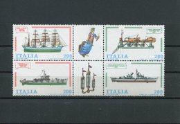 Italia Repubblica (1980) - Costruzioni Navali Italiane, 4° Emissione ** - 6. 1946-.. Repubblica