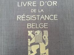 LIVRE D OR DE LA RÉSISTANCE BELGE GUERRE 1939 - 1945 MILITARIA BELGIQUE EDITIONS LECLERCQ ANNÉES 1940 - 1939-45