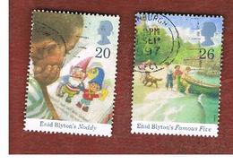 GRAN BRETAGNA.GREAT BRITAIN -  SG 2001.2002  -  1997   E. BLYTON (CHILDREN' S AUTHOR)   - USATI - 1952-.... (Elisabetta II)